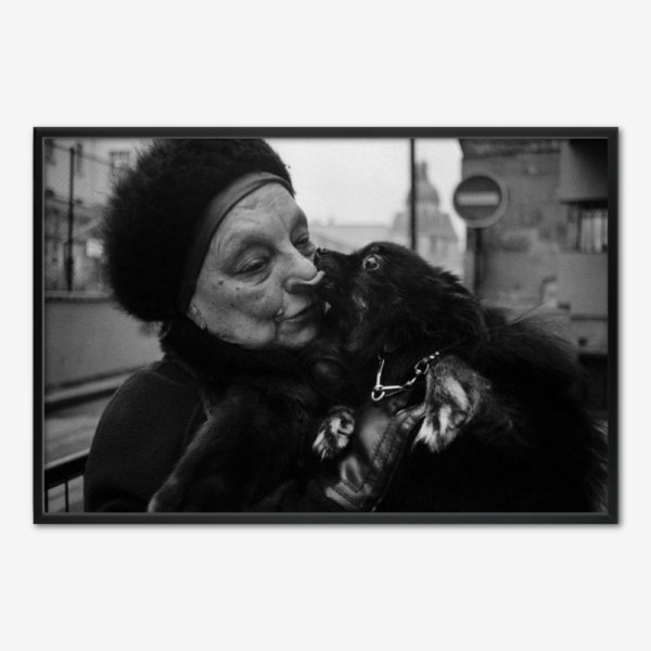 The Dog Kiss. Foto Tine Harden.