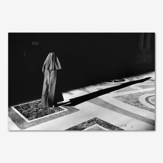 Nonnen i Peterskirken. Foto Søren Rud.