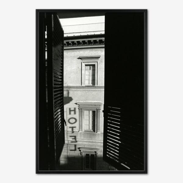 Hotellet i Rom. Foto Søren Rud.
