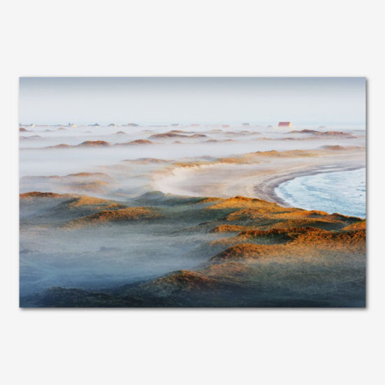Mellem himmel og hav. Foto Jesper Tønning.